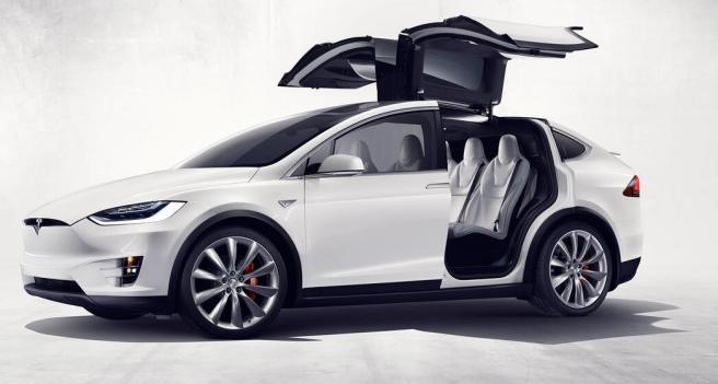 Tesla Model x SUV went on sale for $ 80,000